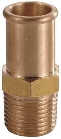 Value Brand 172881 Hose Barb 5 Financial sales sale A surprise price is realized MNPT 3 8 Brass In
