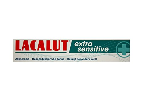 LACALUT extra sensitive Zahnpasta 75ml Zahncreme, PZN: 10991693, Made in Germany NEU
