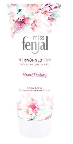 Miss Fenjal Floral Fantasy Geschenk-Set Duschgel + Body Lotion je 200 ml