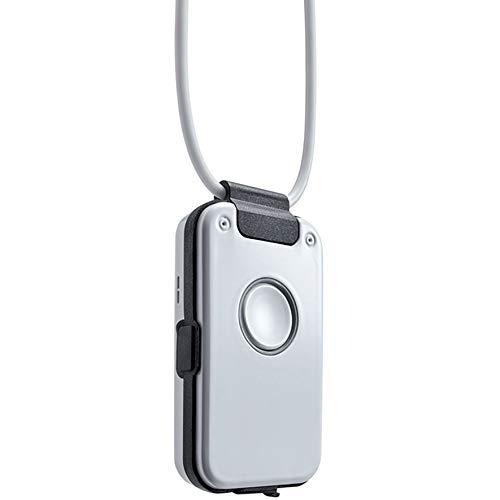 DECT DOC Help - Notruftelefon, spritzwasserfest als Telefon für Senioren, Hausnotruf, Seniorentelefon, Notfallknopf, Nottelefon, Rauchmeldenotruf