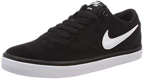 Nike SB Check Solar, Zapatillas de Skateboarding Hombre, Negro (Black/White 001), 40 EU