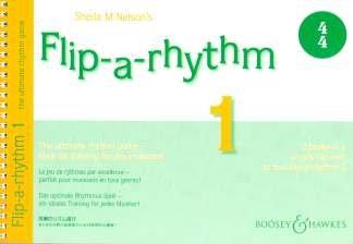 FLIP A RHYTHM 1 + 2 - RHYTHMUSSPIEL - arrangiert für Instrumental-Ausgabe [Noten / Sheetmusic] Komponist: NELSON SHEILA