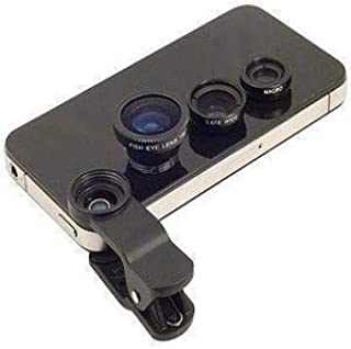 3 in 1 Universal Clip Lens for Smartphones nd Tablets Apple Iphone 4 4s 5