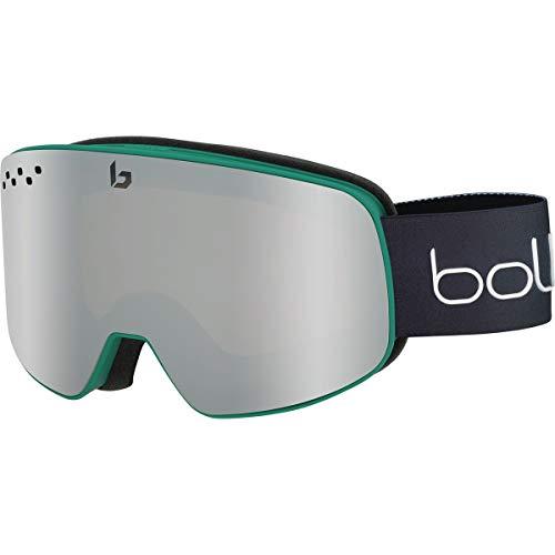 BOLLÈ Nevada Skibrille, schwarz/grün, Einheitsgröße