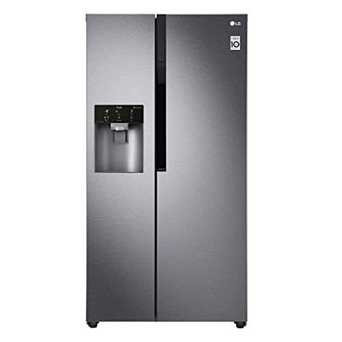 LG GSL361ICEZ nevera puerta lado a lado Independiente Acero inoxidable 591 L A++ - Frigorífico side-by-side (Independiente, Acero inoxidable, Puerta americana, LED, CE, 591 L)