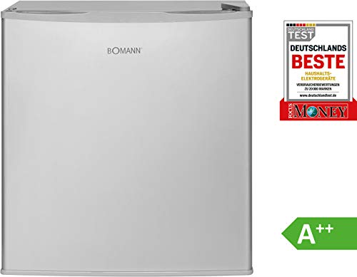 Bomann KB 340 - Nevera de 45 l acero inoxidable