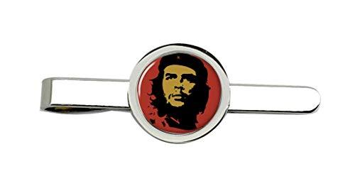 Giftshop UK Che Guevara Rot Krawatte Clip