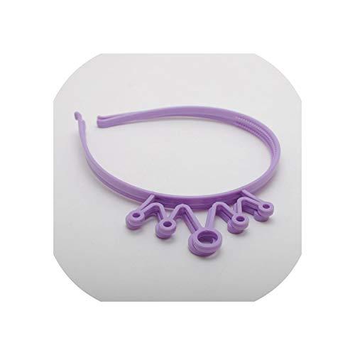 4 Pieces/lot Fashion Cat Sweet Ear Headbands Women Ladies Girls Teeth Hair Band Headwear Headband Hair Accessories,Lavender