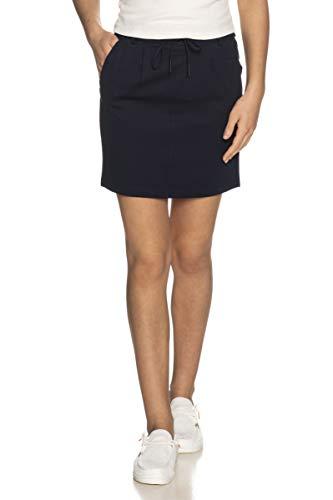ONLY NOS Onlpoptrash Easy Skirt Pnt Noos Falda, Azul Night Sky), 34 (Talla del fabricante: X-Small) para Mujer