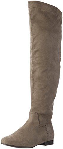 ALDO Damen Arabia Langschaft Stiefel, Grau (Grey / 12), 41 EU