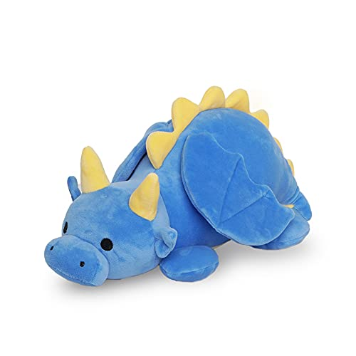 Avocatt Blue Dragon Plushie Toy - 12 Inches Small Dragon Stuffed Animal Plush - Plushy and Squishy Dragon with Soft Fabric and Stuffing - Cute Toy Gift for Boys and Girls