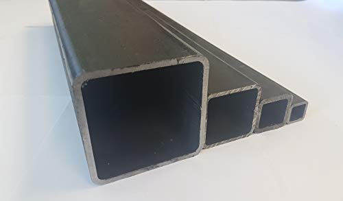 Stahlrohr Quadratrohr Vierkantrohr 40x40x2 mm E235 EN 10305-5 (500-2000mm) (1500mm)