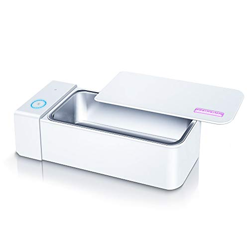 Ultrasonic Jewelry Cleaner- LONOVE Professional Ultrasonic Cleaner Machine for Cleaning Silver Jewelry Eyeglasses Rings Watches Necklaces Dental Coins Razors Dentures Tools Cleaner 6L