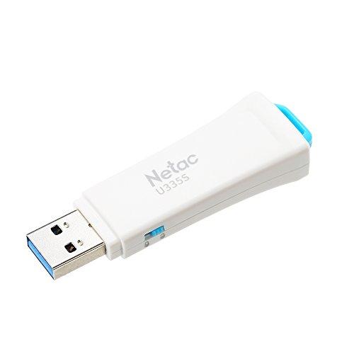 Docooler Netac U335S Flash Drive 64G/32G/16G Schreibschutz USB3.0 Memory Stick (16GB)