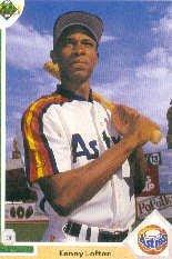 1991 Upper Deck Final Edition Kenny Lofton Rookie Baseball Card #24F Kenny Lofton