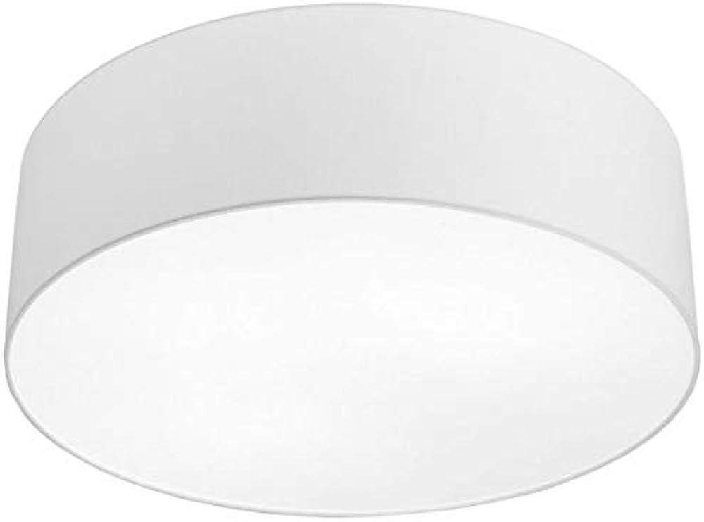 Cameron - lampadario da soffitto in metallo e tessuto, stile moderno LL10784