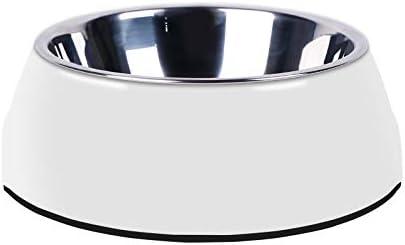 Manda Ocean Pet Bowls Stainless Bowl Universal Steel Dog Direct sale of 2021 manufacturer Cat