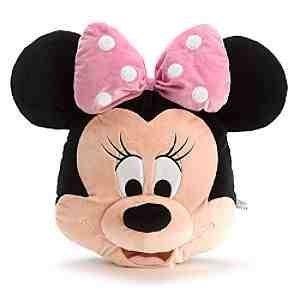 Officiel Disney Minnie Mouse grosse tête 46cm coussin peluche molle