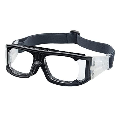 perfeclan Gafas deportivas Gafas Gafas de tiro Gafas de sol deportivas de seguridad antiimpacto para correr - NEGRO