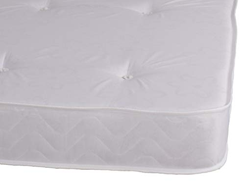Single White Daisy Tufted Mattress Great For Kids, Bunk Beds, Cabin Beds Etc by eXtreme comfort ltd