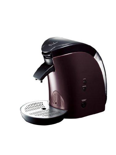 deviceSTYLE Brunopasso UCC ECO-POD専用コーヒーメーカー ブラウン EP-1-BR
