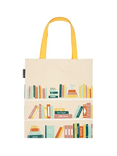 Out of Print Bookshelf Tote Bag
