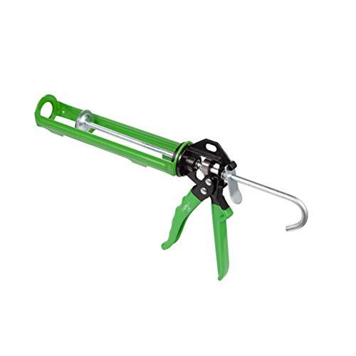 Herramienta de Pistola de Pegamento de Vidrio de un Solo Tubo, Pistola de Pegamento de Herramienta Manual Que Ahorra Trabajo, Pistola de calafateo Universal