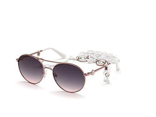 Guess occhiale da sole GU7640 78Z oro rosa viola taglia 57 mm Donna