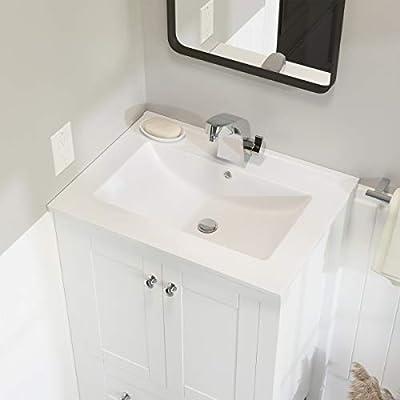 Swiss Madison SM-VT324 Vanity Top Single Faucet 24