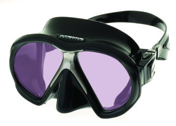 Atomic Sub Frame w/ARC Technology Mask for Scuba Diving, Snorkeling, Spearfishing, Free Diving (Black)