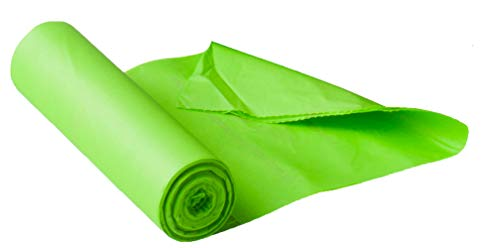 Affordable Maze 120 Count 9.0 Gallon Compostable Bags, Green