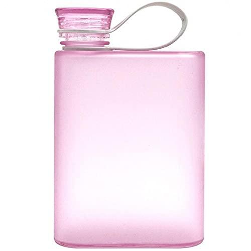 Ruluti 380ml A5 Deportes Botellas Portátiles Plástico Plástico Botella De Agua Nuevo Anillo Cuaderno Aire Libre Hervidor De Hervidor De Vino para Hombre