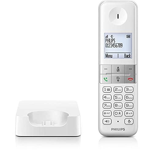 Teléfono inalámbrico D4701W/23 con un diseño Moderno y un Acabado de máxima Calidad