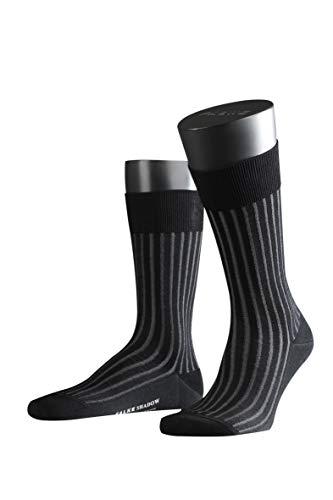 FALKE Herren Socken Shadow - 95{b27e77ceb67d34b10db48a1871619f534fcb9c5f1c35aeea932a190eaf8cd90a} Baumwolle, 1 Paar, Grau (Grey-White 3030), Größe: 43-44
