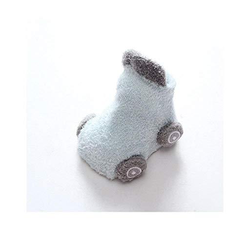 Baby peuter vloer sokken, cartoon auto baby sokken, anti-slip lijm kinderen peuter sokken, baby sokken vloer sokken