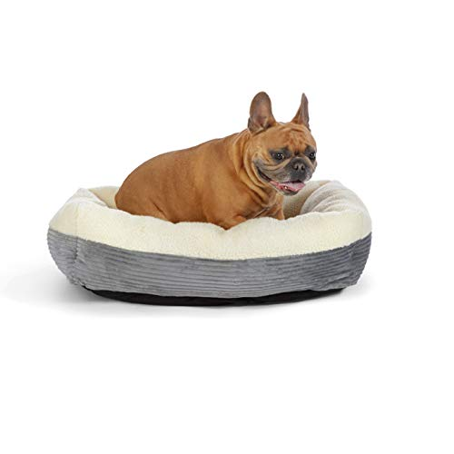 Amazon Basics Rectangle Self Warming Pet Bed For Cat or Dog, 30 x 9 x 24 Inches