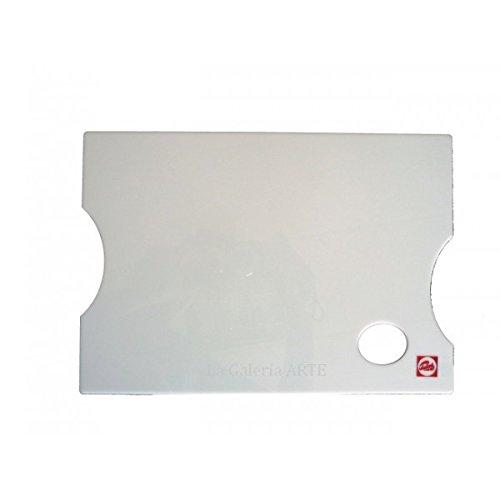Paleta de metacrilato rectangular 25x35 Talens