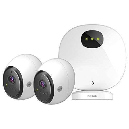 D-Link DCS-2802KT-EU Caméra IP Intérieur/Extérieur Mydlink Pro Sans-fil - 2 x Caméras DCS-2800LH-EU + 1 Base H100 inclus - IP65 - 2 Mégapixel full HD 1920x1080