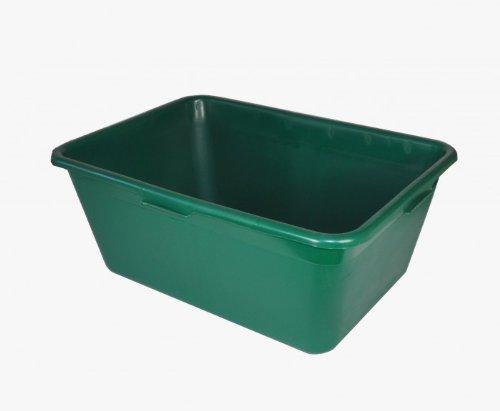 1a-Handelsagentur Jagdwanne Wildwanne 90/65 / 40 Liter grün, Größe:40 L