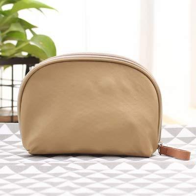 Sac cosmétiques Voyage Portable Shell Necessaries Make Up Case Organisateur Beauté Sac coréen Solide Couleur Toiletry Femmes Mini Sac à Main (Color :