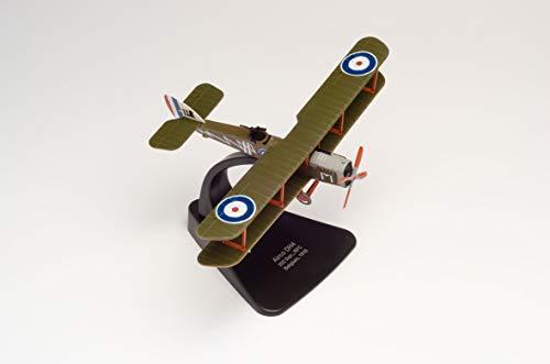 herpa 81AD006 Royal Flying Corps Oxford 81AD006-Royal Flugzeug in Miniatur zum Basteln, Sammeln und als Geschenk, grün