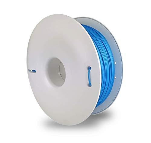 Fiberlogy FiberSilk Metallic Blue, 1,75 mm, 0,85 kg de filamento PLA para impresora 3D FDM