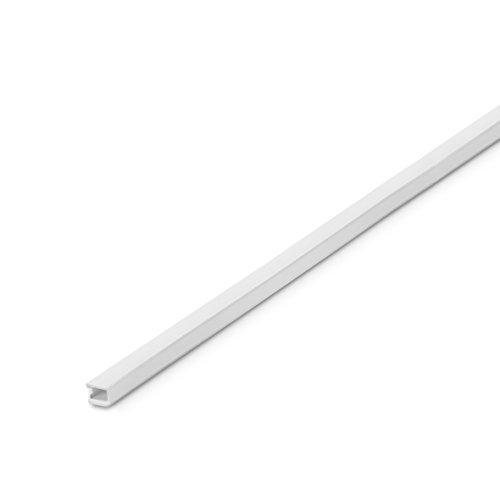 2405 Inofix Plasfix selbstklebender Kabelkanal 9 x 5 mm, 2m lang (Weiß)