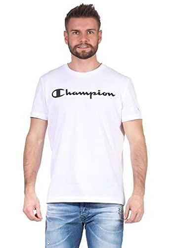Champion Crewneck Camiseta para Hombre - algodón Talla: S