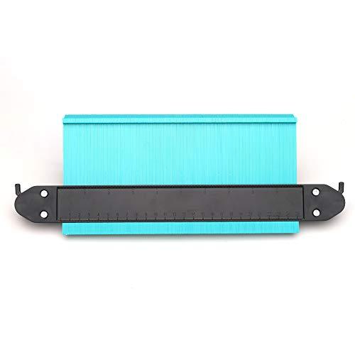 型取りゲージ ロック設計 250mm 幅広タイプ(13cm幅) 「フルフィルメント by Amazon」ABSプラスチック製型取りゲージ 測定ゲージ 測定工具 曲線定規 不規則な測定器