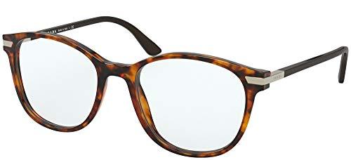 Prada Gafas de Vista PR 02WV Light Havana 54/19/145 hombre