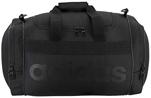 adidas Originals - Bolsa de Deporte Unisex Santiago, Color Negro y Negro, Talla única