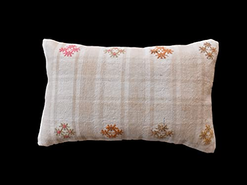 Kelim 3333 - Cojín (30 x 50 cm, funda de almohada decorativa Kelim, 30 x 50 cm)