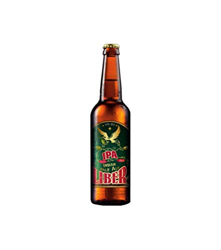 Cerveza LIBER IPA/LIBER cerveza 2019 MEDALLA PLATA CONCURSO INTERNACIONAL CERVEZA ARTESANA/PACK 6 Uds. 33cl. DEGUSTACIÓN