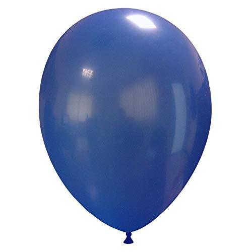Event Kauf 25-1000 STK. Luftballons Metallic / Standard, Ø ca. 27 cm, Helium (25 Stück, Standard Nr.46: Dunkelblau)